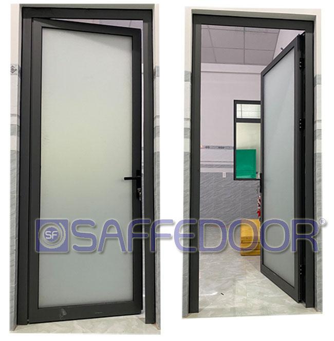 cửa nhà vệ sinh 550 - Cửa nhôm xingfa TPHCM