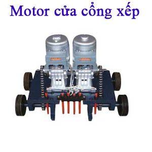 Motor cổng xếp1
