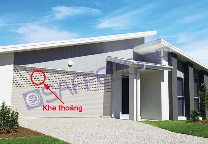 khe thoáng1 - lắp đặt cửa cuốn Phú Nhuận