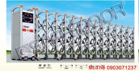 báo giá cổng xếp inox tp hcm