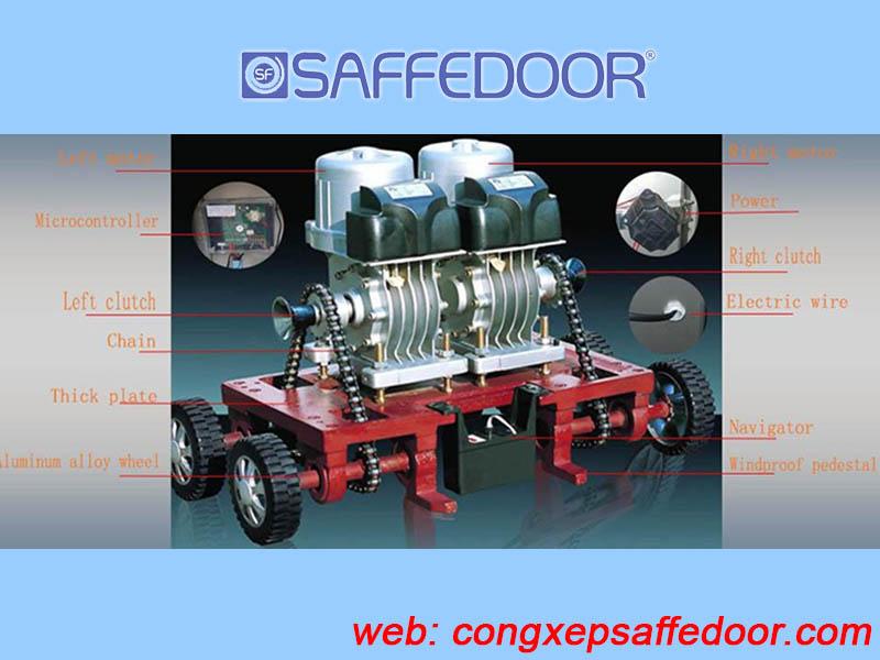motor cổng 3 - Motor cửa cổng xếp