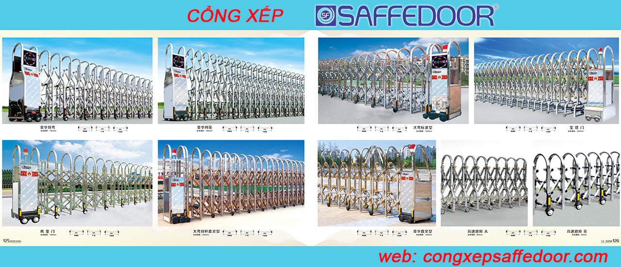 tổng hợp 3 - Lắp đặt cổng xếp tại Tp HCM