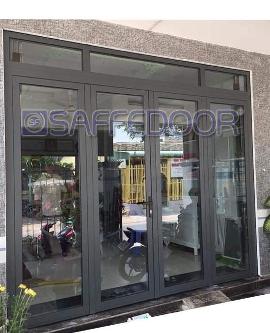 cửa nhôm xingfa 4 cánh 550 - Cửa nhôm xingfa Thuận An Bình Dương